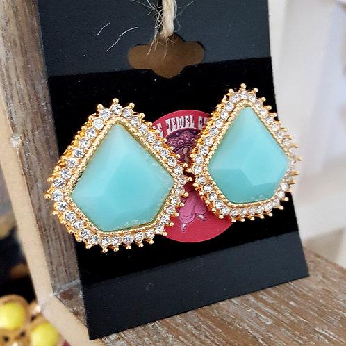 Lou Lou Earrings Blue