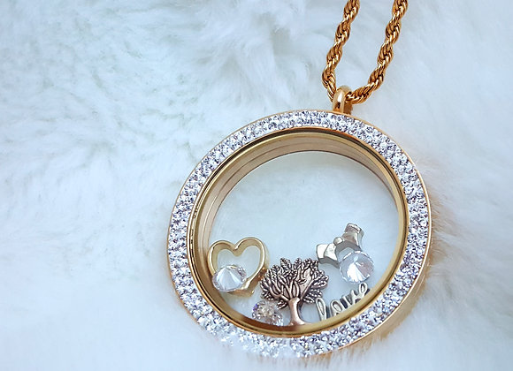 Golden Wonders Extra Large Locket