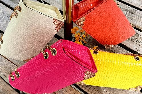 Harlow Handbag Coral