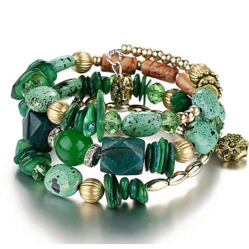 Envy Wrap Bracelet (Green)