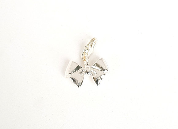 Silver Bow Charm 925