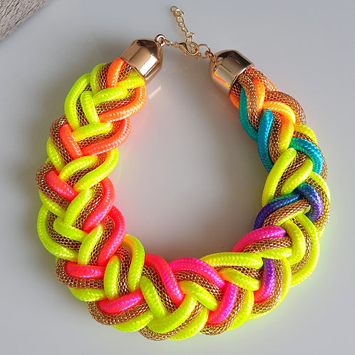 Neon Braid- Multicolour