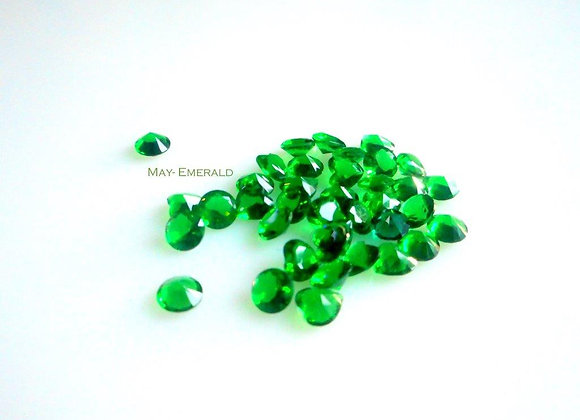 May Birthstone (Emerald) (From €2)