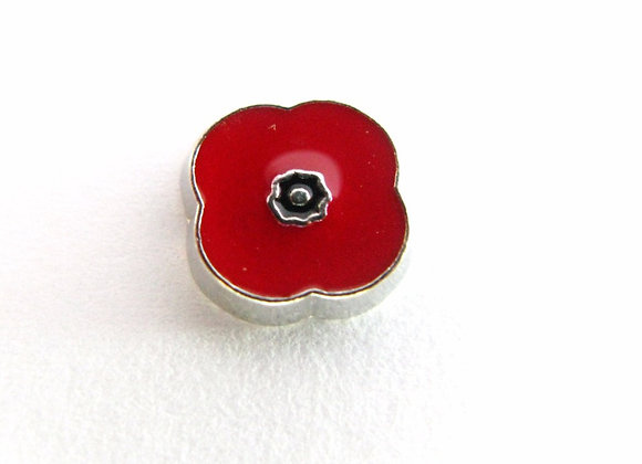 Poppy (Remembrance) Flower Charm