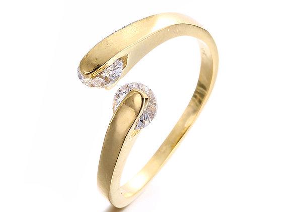 Dew Drops Ring- Gold 18ct GP