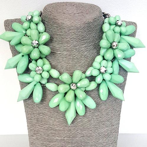 Floral Fantasy Green
