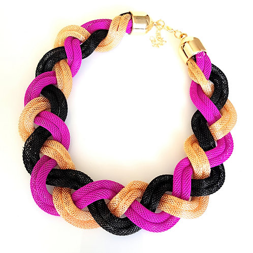 Classic Braid- Touch of Purple