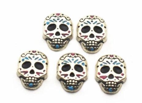 Skull Dress-up Halloween Charm