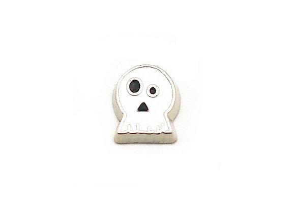 Skeleton Ghost Halloween Charm