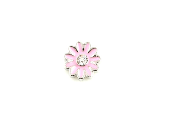 Baby Pink Daisy/Gerbera Flower Charm
