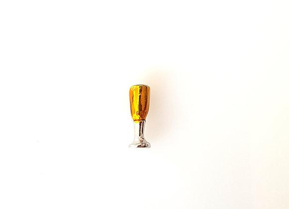 Champagne Flute Charm