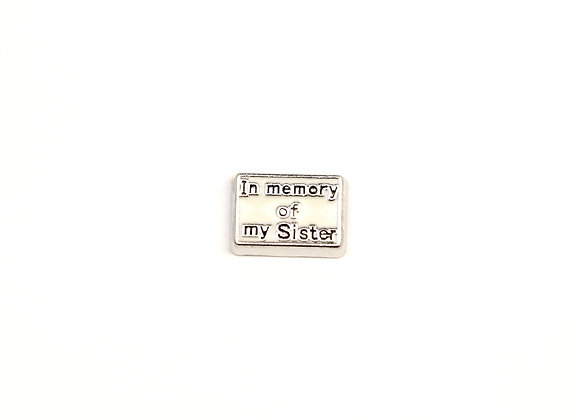 In Memory of My Sister Charm