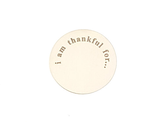 i am thankful for... Backing Plate