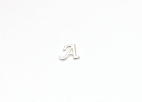 Silver Alphabet Charm A-Z