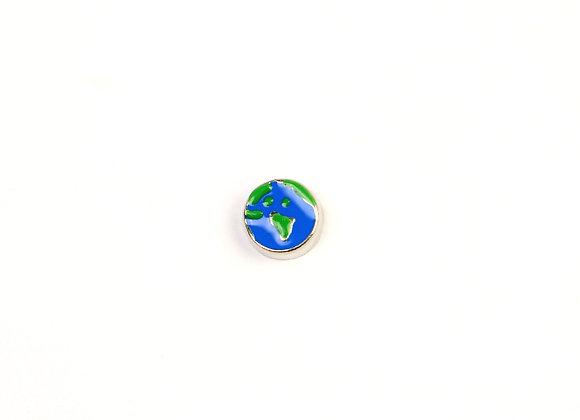 Earth Globe Charm