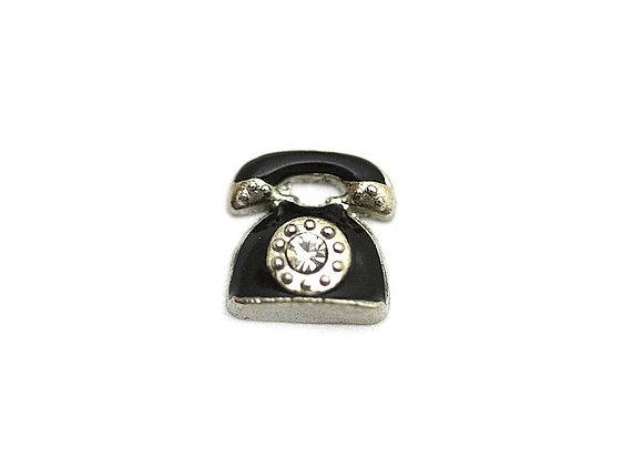 Retro Telephone Charm
