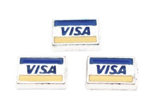 VISA Credit Debit Card Charm