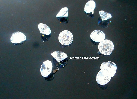 April Birthstone (Diamond) (From €2)