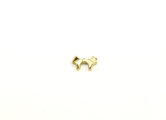 Golden Bow Charm