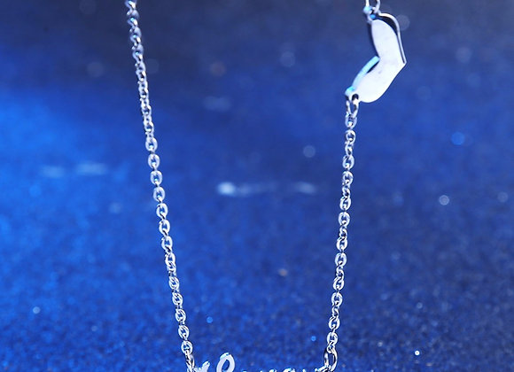 LoveU Necklace Silver