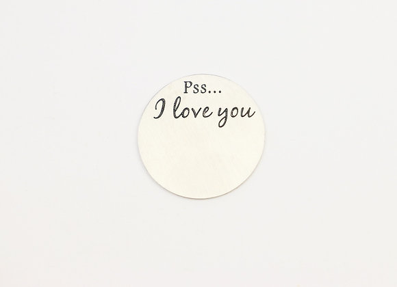 Pss... I love you Backing Plate