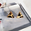 Thumbnail: Leopard Print Triangular Stud Earrings