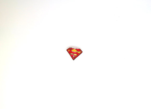 Superman Badge Charm