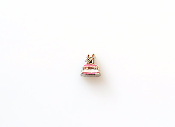 21st Birthday Cake Charm
