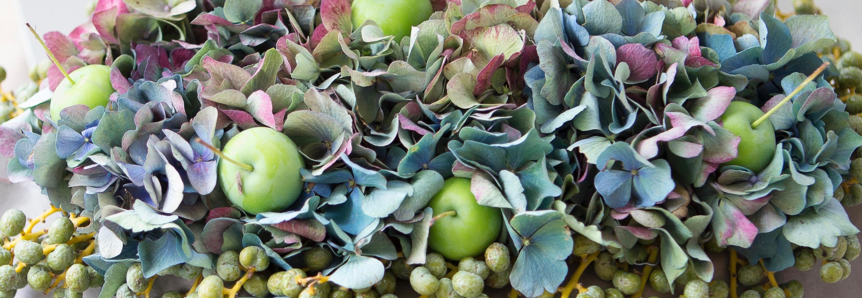 Eucalyptus/Hortensia ring