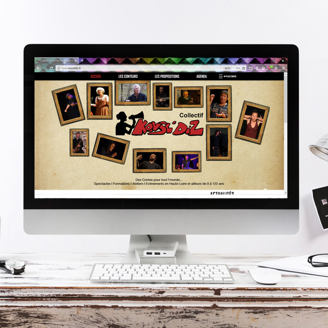 Refonte de site WEB - Collectif Konsl'Diz