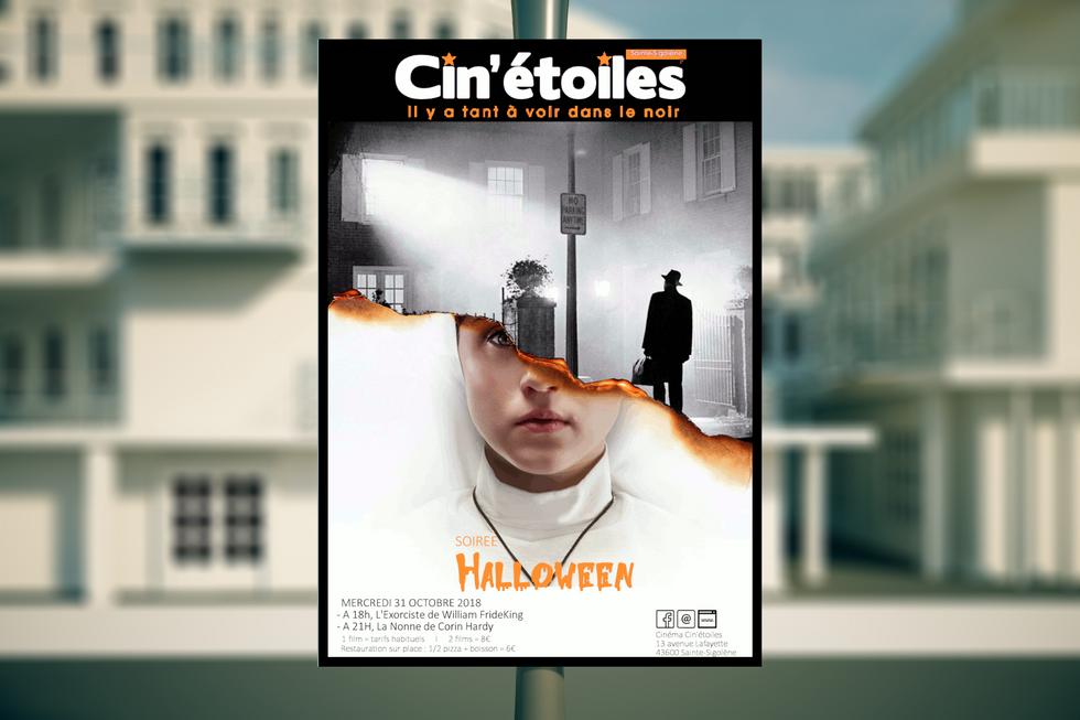 Soirée Halloween #4 - Le Cin'étoiles