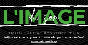 FM43 se met au vert avec L'Image du Son...