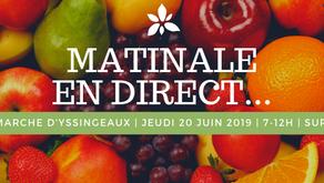 7h-12h : une matinale en direct du marché d'Yssingeaux le 20 juin prochain sur FM43