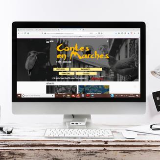 Refonte du site WEB - festival Contes en Marches