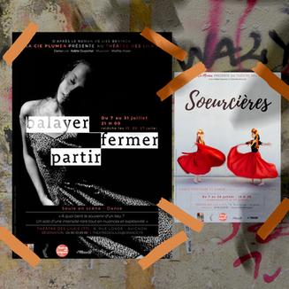 Soeurcières | Balayer, Fermer, Partir - Cie Plumea au #OFF21 (Avignon)