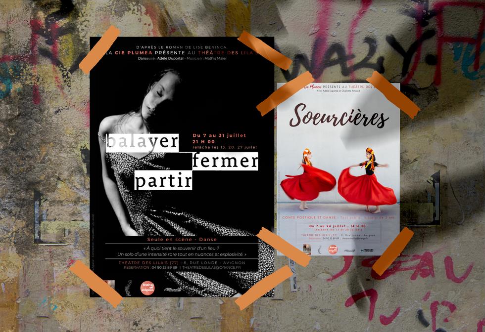 Soeurcières  Balayer, Fermer, Partir - Cie Plumea pour le #OFF21 (Avignon)
