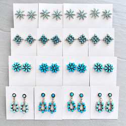 Turquoise cluster & dangle