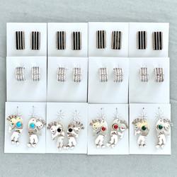 Sterling assorted earrings