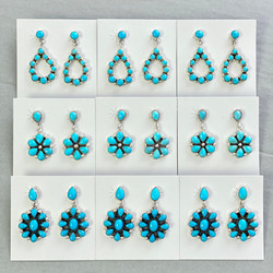 Turquoise cluster dangles