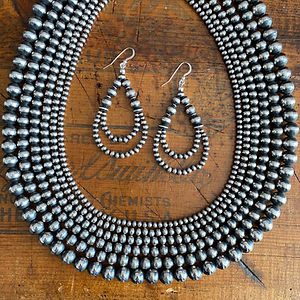 Navajo Pearls silver beads