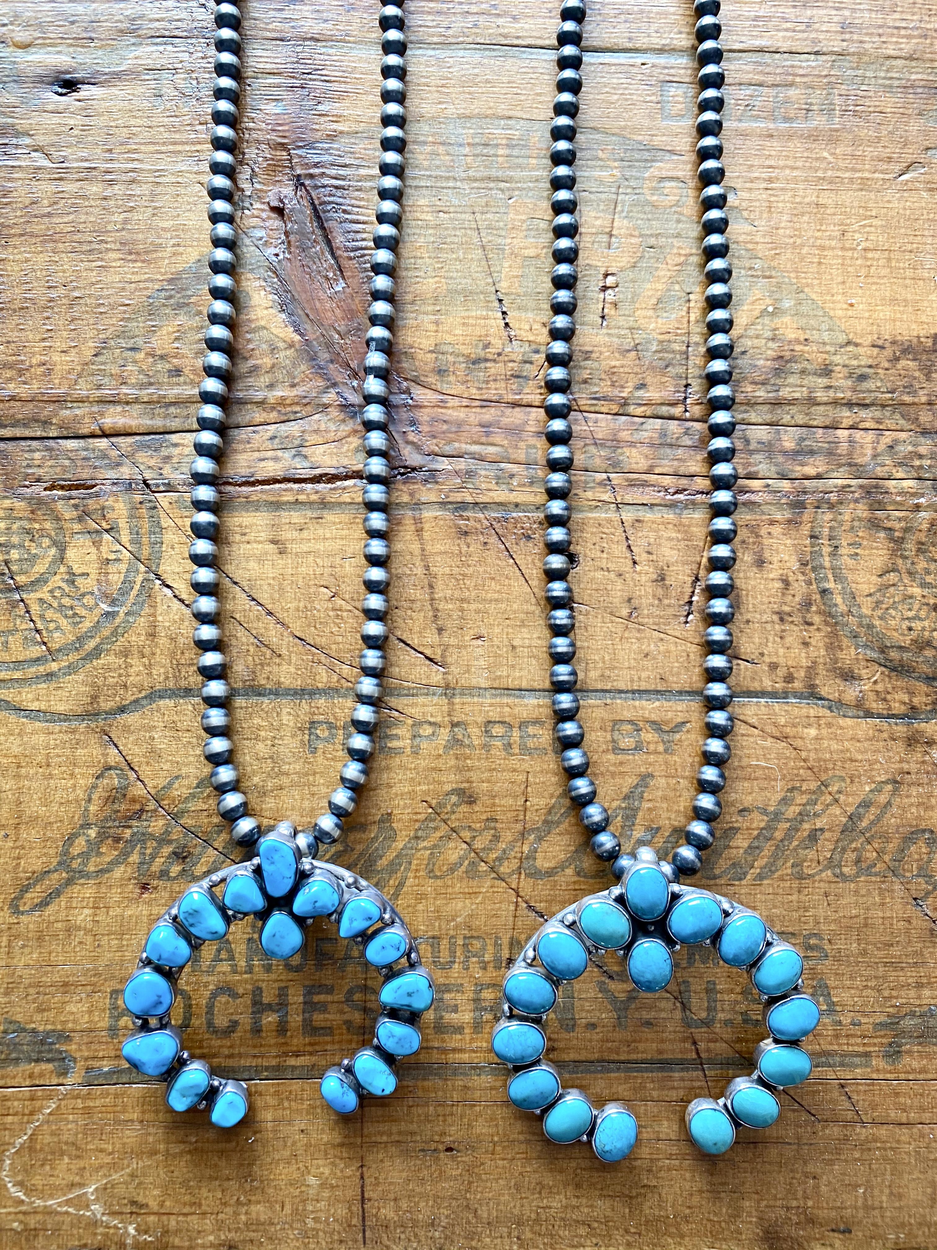 Turquoise Naja necklaces