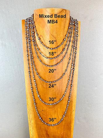 Navajo pearls mixed bead