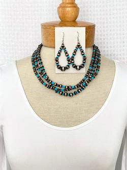 Multistrand turquoise