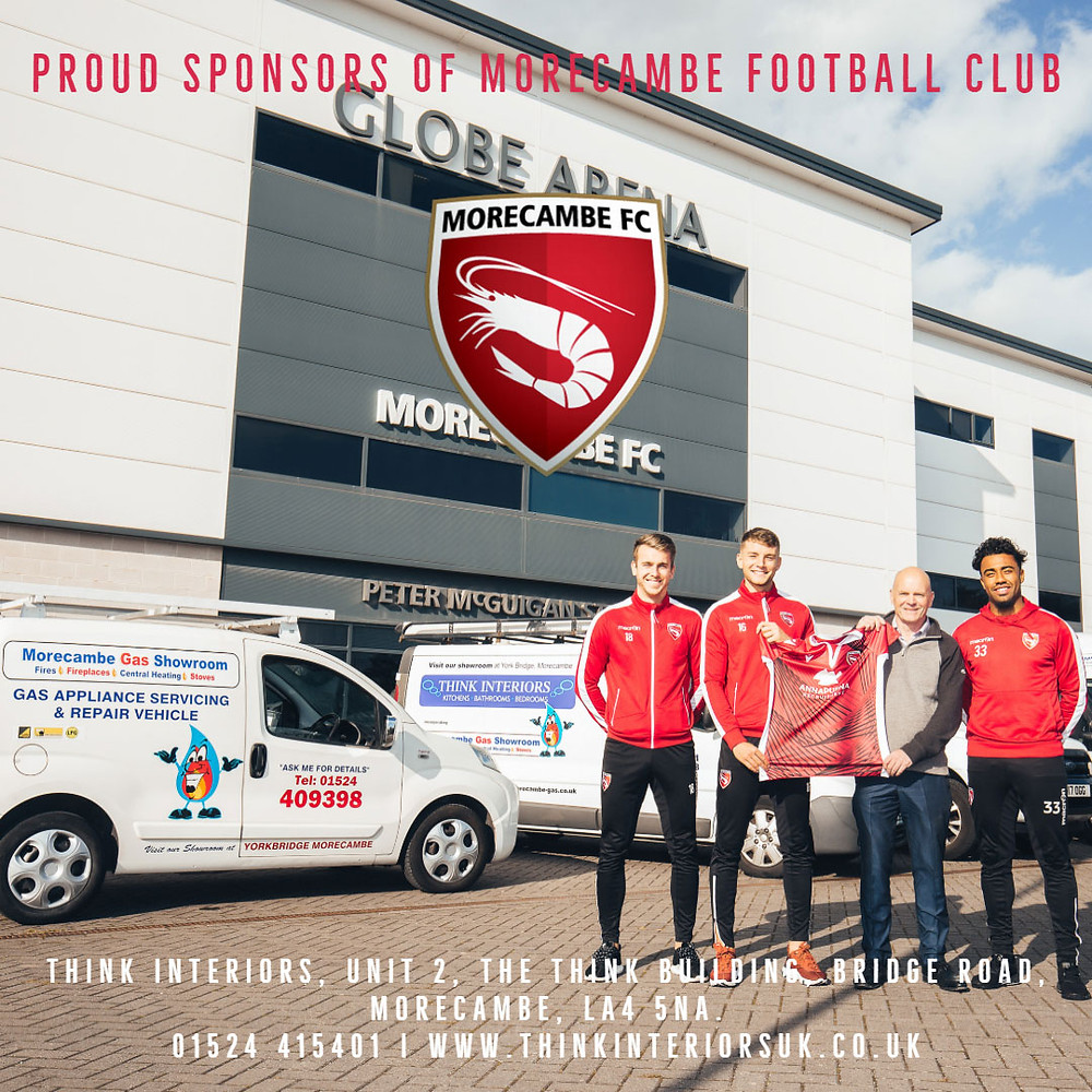 Think Interiors - Sponsors Morecambe F.C.