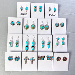 Small assorted style earrings