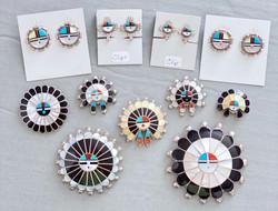 Multicolor inlay sunfaces