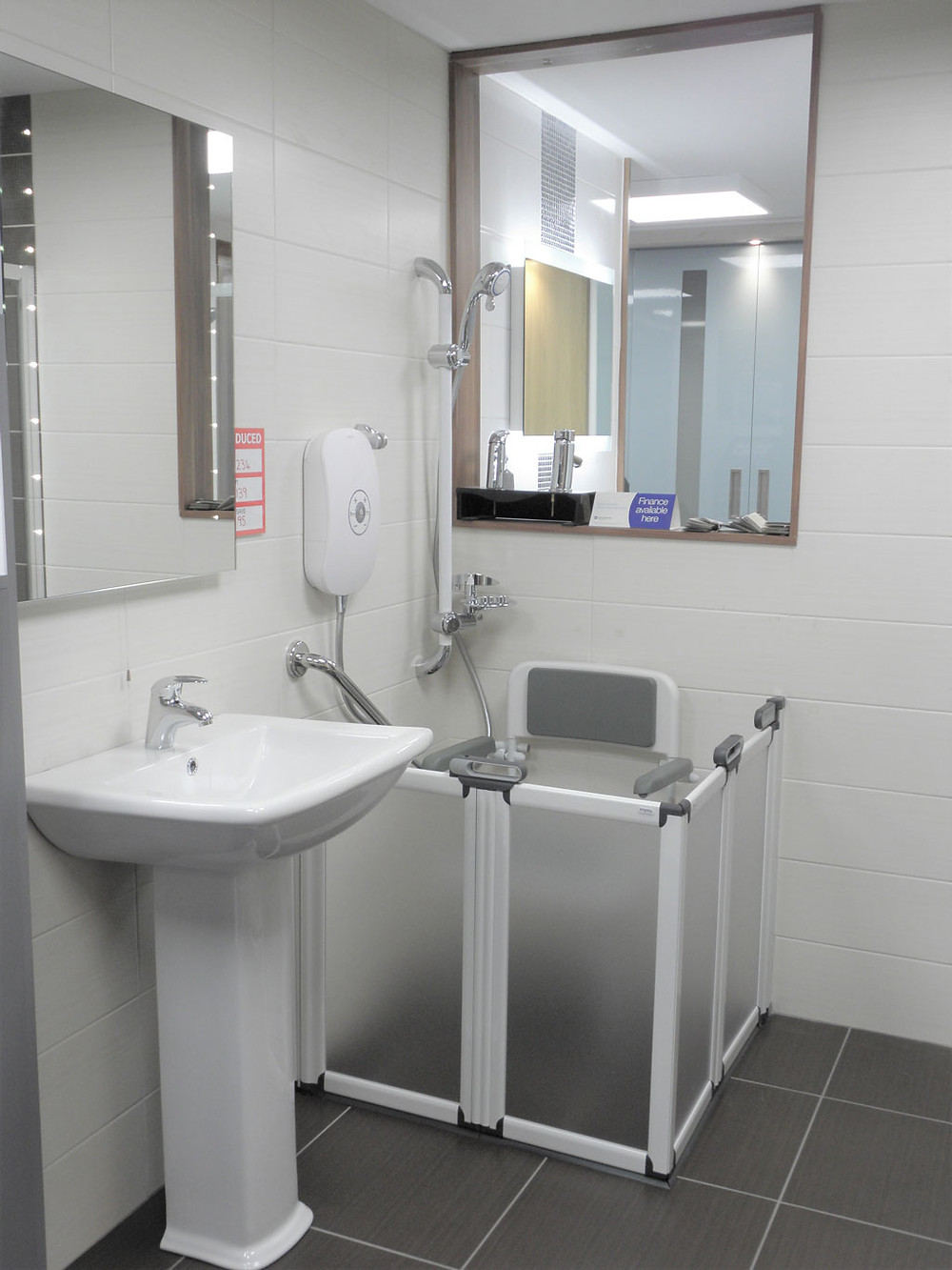 Disability Bathrooms on Sale at Think Interiors