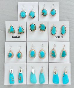 Kingman turquoise mixed styles