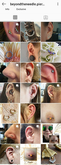 Beyond the needle piercings
