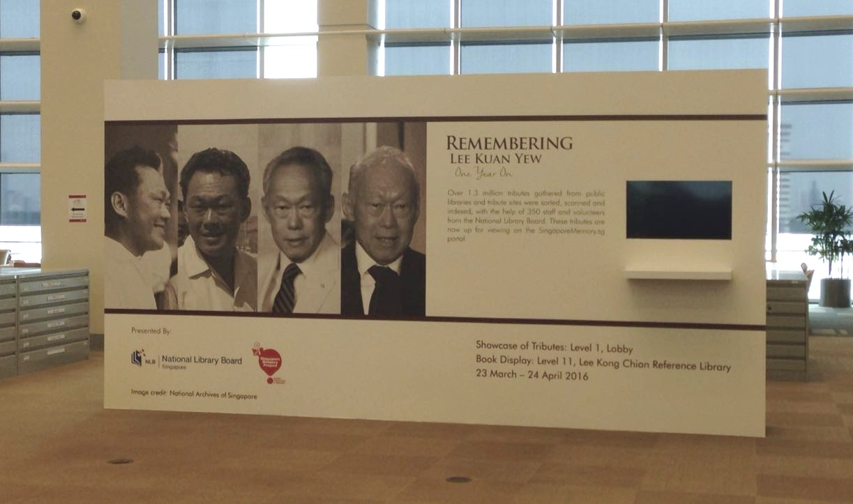 NLB Remembering Lee Kuan Yew